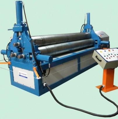 CTEH 16 - Calandra para chapas e tubos eletro-hidráulica