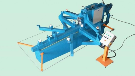 Rebordeadeira para fabricação de tanques 6,35mm