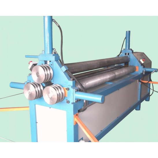 CTEH 6,35 - Calandra chapas e tubos eletro-hidráulica 6,35mm