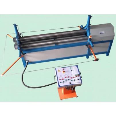- Calandra chapas e tubos eletro-hidráulica para espessura de até 6,35mm.
