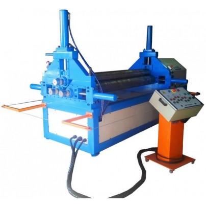 - Calandra chapas e tubos eletro-hidráulica para espessura até  12,7mm.